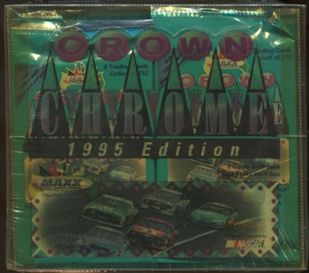 1995 J.R. Maxx Inc. Maxx Premier Plus Crown Chrome Racing Hobby Box