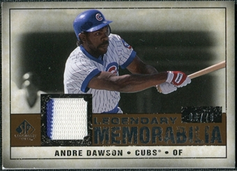 2008 Upper Deck SP Legendary Cuts Legendary Memorabilia Copper Parallel #AD Andre Dawson /75