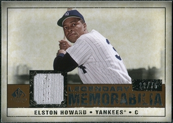 2008 Upper Deck SP Legendary Cuts Legendary Memorabilia Copper Parallel #EH Elston Howard /75