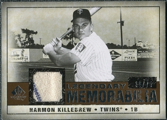 2008 Upper Deck SP Legendary Cuts Legendary Memorabilia Copper Parallel #HK Harmon Killebrew /75