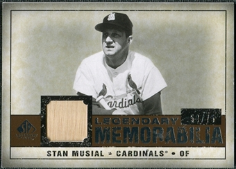 2008 Upper Deck SP Legendary Cuts Legendary Memorabilia Copper Parallel #SM Stan Musial /75
