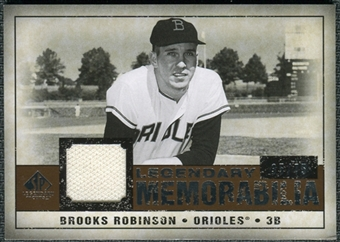 2008 Upper Deck SP Legendary Cuts Legendary Memorabilia Copper #RO Brooks Robinson /75