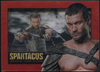 Spartacus Gods of the Arena #NNO Andy Whitfield Memorial Shadowbox (Rittenhouse 2012)