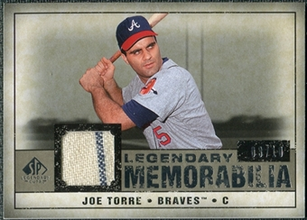 2008 Upper Deck SP Legendary Cuts Legendary Memorabilia Taupe Parallel #JT Joe Torre /10