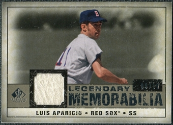 2008 Upper Deck SP Legendary Cuts Legendary Memorabilia Taupe Parallel #LA Luis Aparicio /10
