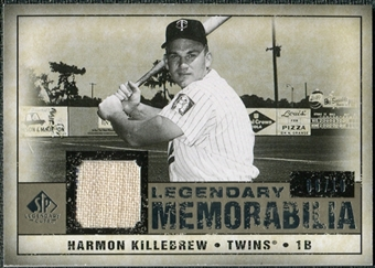 2008 Upper Deck SP Legendary Cuts Legendary Memorabilia Taupe #HK Harmon Killebrew /10