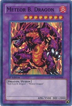 Yu-Gi-Oh Limited Edition Tin Single Meteor B. Dragon Super Rare 3x Lot