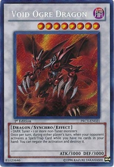 Yu-Gi-Oh Limited Edition Tin 1st Ed. Single Void Ogre Dragon Secret Rare