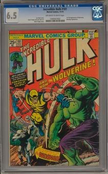 Incredible Hulk #181 CGC 6.5 (OW-W) *1304567002*