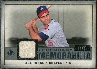 2008 Upper Deck SP Legendary Cuts Legendary Memorabilia Gray Parallel #JT Joe Torre /15