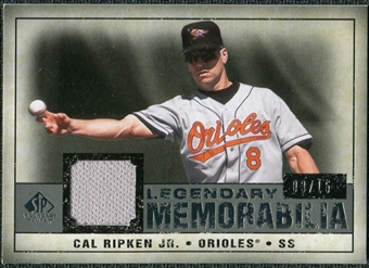 2008 Upper Deck SP Legendary Cuts Legendary Memorabilia Gray #CR Cal Ripken Jr. /15