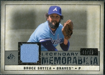 2008 Upper Deck SP Legendary Cuts Legendary Memorabilia Gray Parallel #BS Bruce Sutter /15