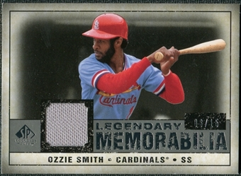 2008 Upper Deck SP Legendary Cuts Legendary Memorabilia Gray #OS2 Ozzie Smith /15