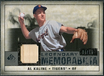 2008 Upper Deck SP Legendary Cuts Legendary Memorabilia Gray #AK Al Kaline /15