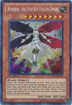 Yu-Gi-Oh Limited Edition Tin Single Rosaria, the Stately Fallen Angel Secret 3x Lot