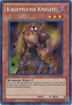 Yu-Gi-Oh Limited Edition Tin Single Kagemucha Knight Secret Rare