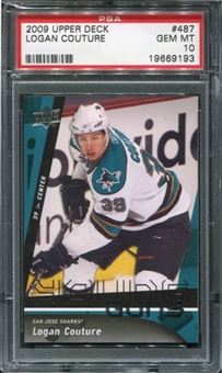 2009/10 Upper Deck #487 Logan Couture RC PSA 10 Gem Mint