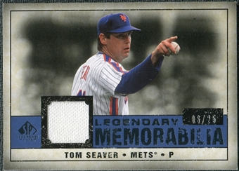 2008 Upper Deck SP Legendary Cuts Legendary Memorabilia Dark Blue #TS Tom Seaver /25
