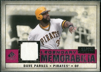 2008 Upper Deck SP Legendary Cuts Legendary Memorabilia Red #DP Dave Parker /35