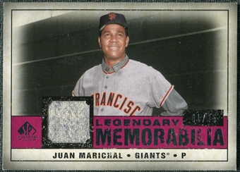 2008 Upper Deck SP Legendary Cuts Legendary Memorabilia Red Parallel #JM Juan Marichal /35