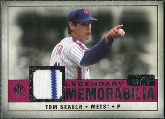 2008 Upper Deck SP Legendary Cuts Legendary Memorabilia Red Parallel #TS Tom Seaver /35