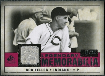 2008 Upper Deck SP Legendary Cuts Legendary Memorabilia Red #BF Bob Feller /35