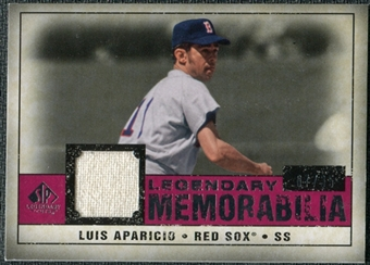 2008 Upper Deck SP Legendary Cuts Legendary Memorabilia Red #LA Luis Aparicio /35