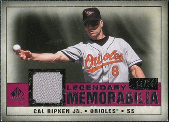 2008 Upper Deck SP Legendary Cuts Legendary Memorabilia Red Parallel #CR Cal Ripken Jr. /35
