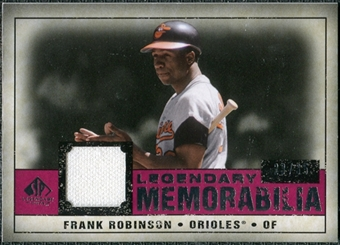 2008 Upper Deck SP Legendary Cuts Legendary Memorabilia Red Parallel #FR Frank Robinson /35