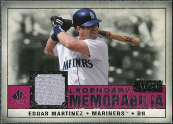 2008 Upper Deck SP Legendary Cuts Legendary Memorabilia Red #MA Edgar Martinez /35