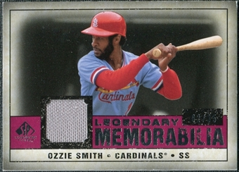 2008 Upper Deck SP Legendary Cuts Legendary Memorabilia Red #OS2 Ozzie Smith /35