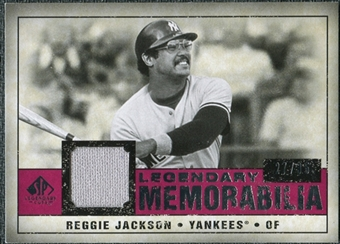 2008 Upper Deck SP Legendary Cuts Legendary Memorabilia Red Parallel #RJ Reggie Jackson /35