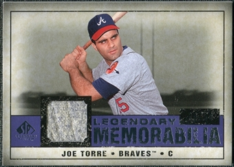 2008 Upper Deck SP Legendary Cuts Legendary Memorabilia Violet #JT Joe Torre /50