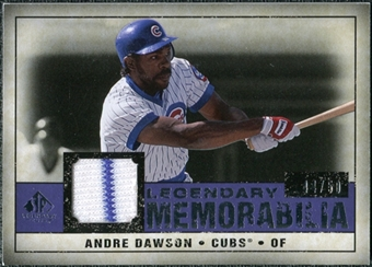 2008 Upper Deck SP Legendary Cuts Legendary Memorabilia Violet Parallel #AD Andre Dawson /50