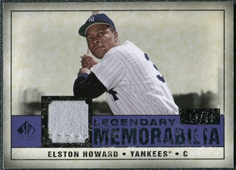 2008 Upper Deck SP Legendary Cuts Legendary Memorabilia Violet #EH Elston Howard /50