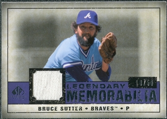 2008 Upper Deck SP Legendary Cuts Legendary Memorabilia Violet #BS Bruce Sutter /50