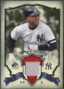 2008 Upper Deck SP Legendary Cuts Destined for History Memorabilia #DJ Derek Jeter
