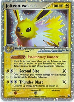 Pokemon Delta Species Single Jolteon ex 109/113