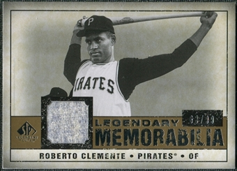 2008 Upper Deck SP Legendary Cuts Legendary Memorabilia #RC Roberto Clemente /99