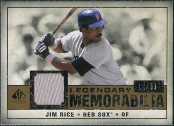 2008 Upper Deck SP Legendary Cuts Legendary Memorabilia #RI Jim Rice /99