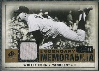 2008 Upper Deck SP Legendary Cuts Legendary Memorabilia #WF Whitey Ford /99