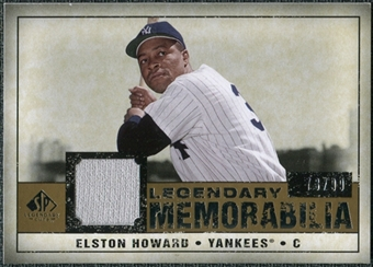 2008 Upper Deck SP Legendary Cuts Legendary Memorabilia #EH Elston Howard /99
