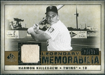 2008 Upper Deck SP Legendary Cuts Legendary Memorabilia #HK Harmon Killebrew /99