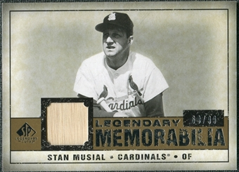 2008 Upper Deck SP Legendary Cuts Legendary Memorabilia #SM Stan Musial /99