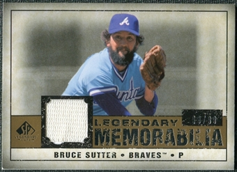 2008 Upper Deck SP Legendary Cuts Legendary Memorabilia #BS Bruce Sutter /99