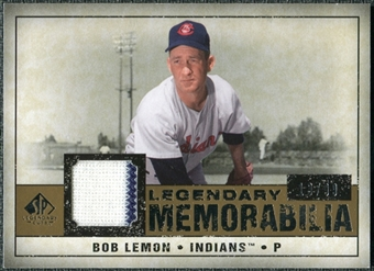 2008 Upper Deck SP Legendary Cuts Legendary Memorabilia #LE Bob Lemon /99