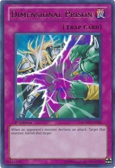Yu-Gi-Oh Ra Mega Pack Single Dimensional Prison Ultra Rare