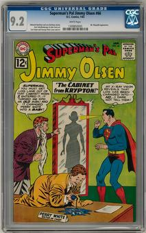 Superman's Pal Jimmy Olsen #66 CGC 9.2 (W) *1309850005*