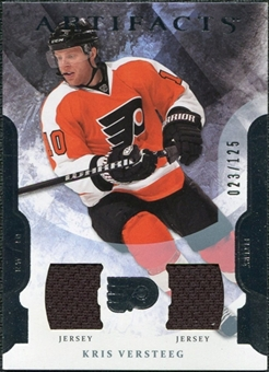 2011/12 Upper Deck Artifacts Jerseys #32 Kris Versteeg /125