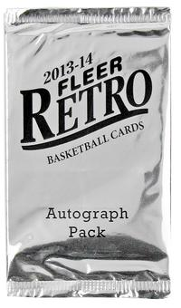 2013/14 Upper Deck Fleer Retro Basketball Hobby Pack